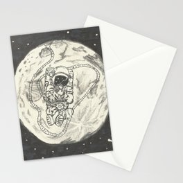 Moon's son Stationery Cards