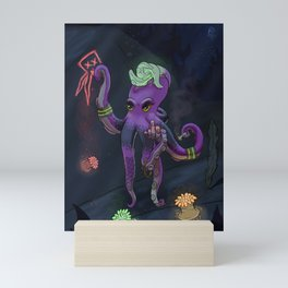 Punk Rocktopus Mini Art Print