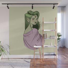 Look me in the eye Wall Mural