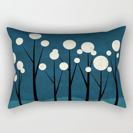 Moon Forest Rectangular Pillow