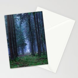 Green Magic Forest - Landscape Nature Photography Stationery Cards