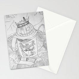 Pumpkin King - Pumpking Stationery Cards
