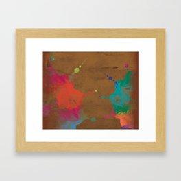 Batik Framed Art Print