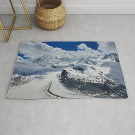 Pure Bliss in the Swiss Alps Rug