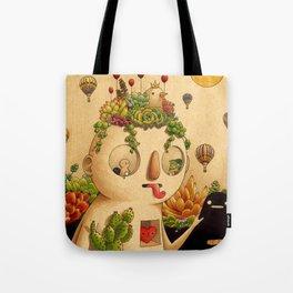 Succulent Man Tote Bag