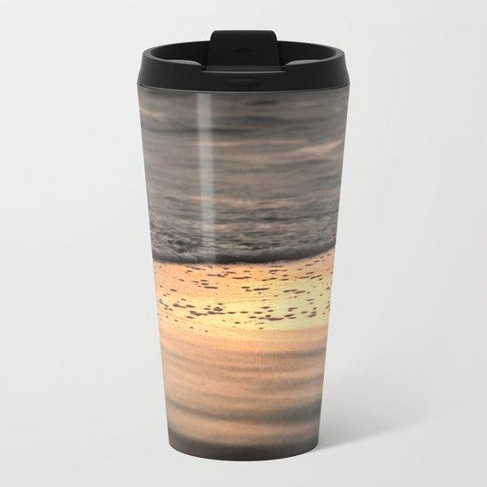 Sunset Sand Metal Travel Mug