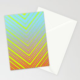 Outside Triangles Stationery Cards