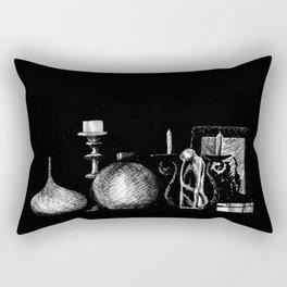 Tiny Still Life Rectangular Pillow