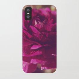 Crimson Rose iPhone Case