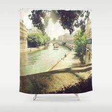 Seine, Paris Shower Curtain