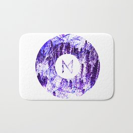 Vinyl abstract Bath Mat