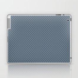 Slate Gray Scales Pattern Laptop & iPad Skin