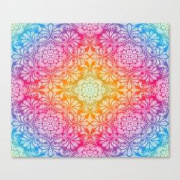 ColourFul Strings Canvas Print