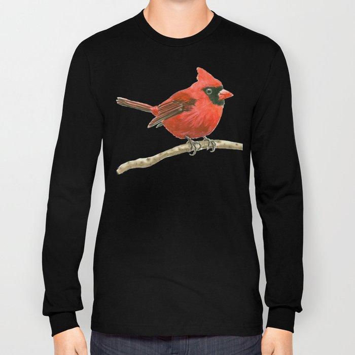 Cardinal bird Long Sleeve T-shirt