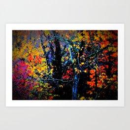 Pumped Up Fall Art Print