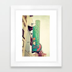Paradise Park Framed Art Print