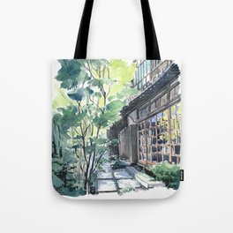 Shaded Alley Tote Bag