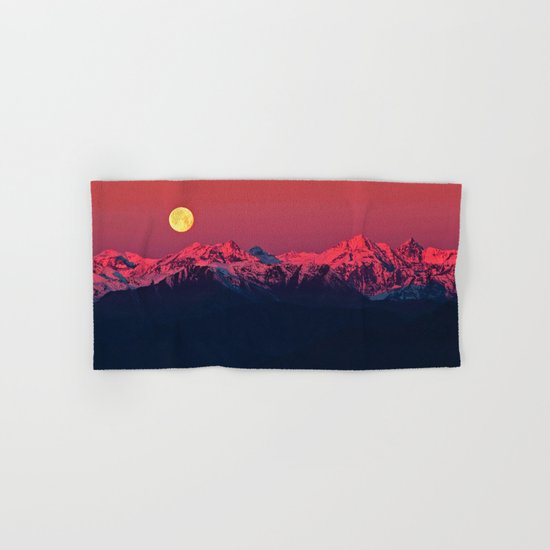 In The End #society6 #prints Hand & Bath Towel