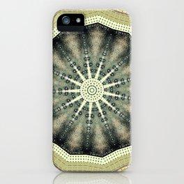 Bohemian Spirit Peace Mandala iPhone Case