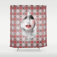 lolita Shower Curtains featuring MonGhost VI (lolita) by LilaVert