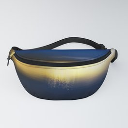 Blue and Gold Fanny Pack