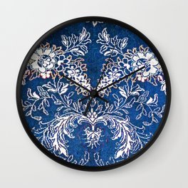 Vintage Carpet 1 Wall Clock