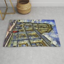 Windsor Castle Coldstream Guard Art Rug