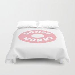 Donut Worry Duvet Cover