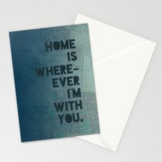 Home is with You Stationery Cards