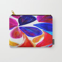 Flowers in Colors Carry-All Pouch