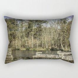 South Holston River Rectangular Pillow