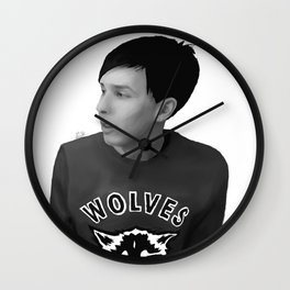 Phil Lester Wall Clock