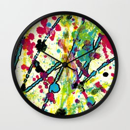 Experiments in Motion-Quad 1-Part 1 Wall Clock