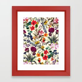 Magical Garden V Framed Art Print
