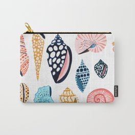 Under the Sea Shells Carry-All Pouch