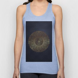-A27- Original Heritage Moroccan Islamic Geometric Artwork. Unisex Tank Top