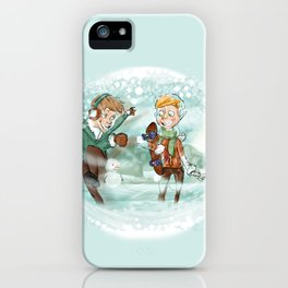 SNOW WINTER iPhone Case