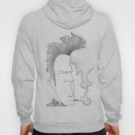 Big-haired Smoker #1 Hoody