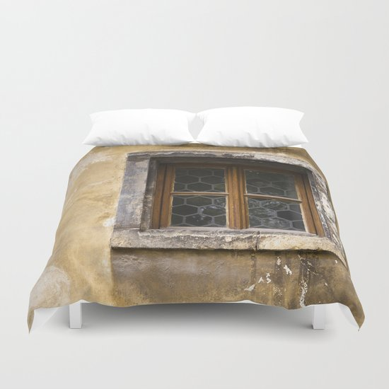 Mysterious Window II Duvet Cover