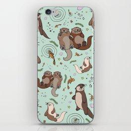 Sea Otters iPhone Skin