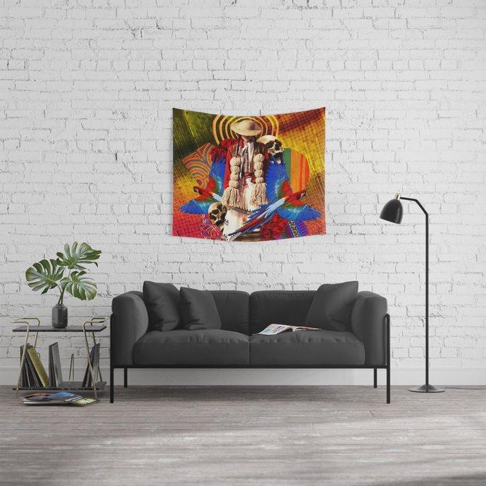 Vida y Muerte Wall Tapestry