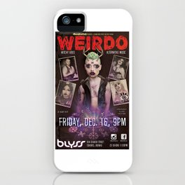 WEIRDO iPhone Case
