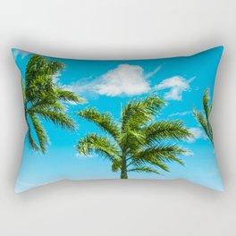 3 Palms Rectangular Pillow