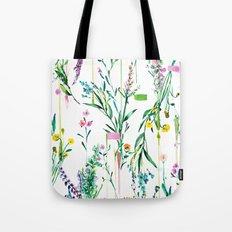 Fleur botanique Tote Bag
