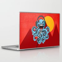 squid Laptop & iPad Skins featuring Squid by Janice