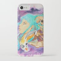 health iPhone & iPod Cases featuring Mental Health by Symbiosis