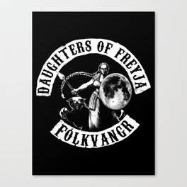 Daughters of Freyja Canvas Print