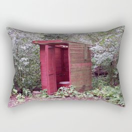 Privy to the Midwest Rectangular Pillow