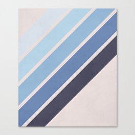 Blue Color Drift Canvas Print