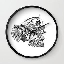 Morte the Skull Wall Clock